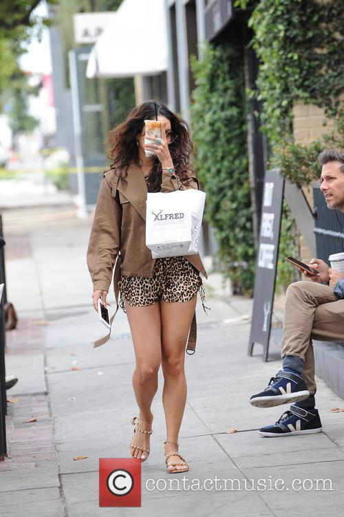 Vanessa Hudgens and Alfred Cafe 1