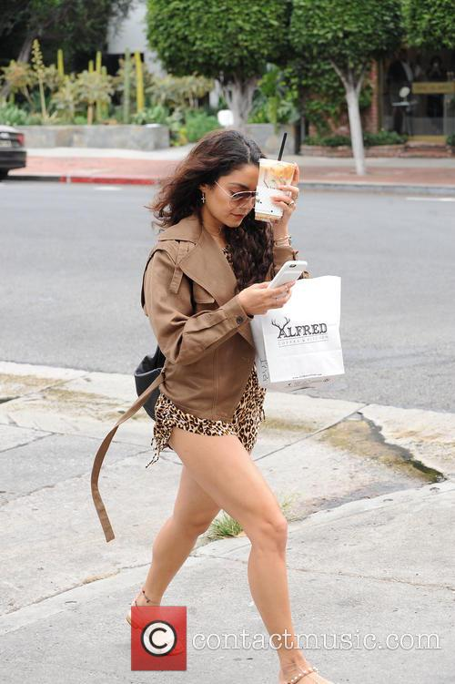 Vanessa Hudgens and Alfred Cafe 5