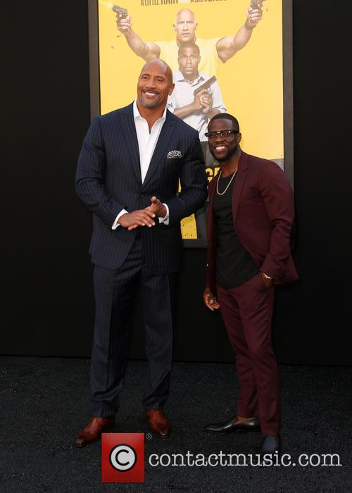 Dwayne 'the Rock' Johnson and Kevin Hart 2