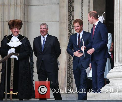 Prince Andrew, Prince Harry, Prince William and Duke Of Cambridge 2