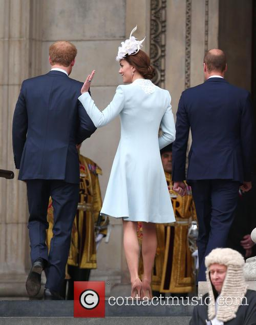 Prince Harry, Catherine, Duchess Of Cambridge, Prince William and Duke Of Cambridge