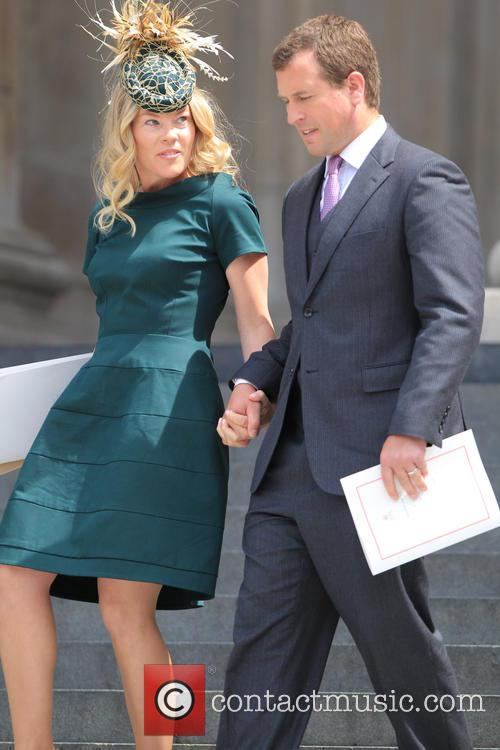 Autumn Phillips and Peter Phillips