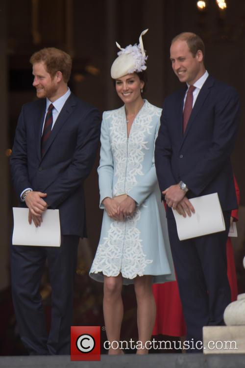 Prince Harry, Queen, Kate, William and Kate Middleton 7