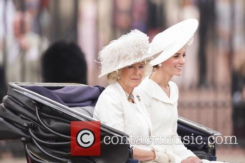 Camilla The Duchess Of Cornwall and The Duchess Of Cambridge 7