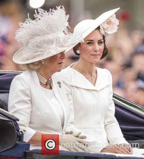 Camilla The Duchess Of Cornwall and The Duchess Of Cambridge 2
