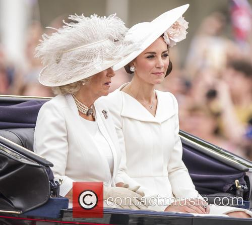 Camilla The Duchess Of Cornwall and The Duchess Of Cambridge 3