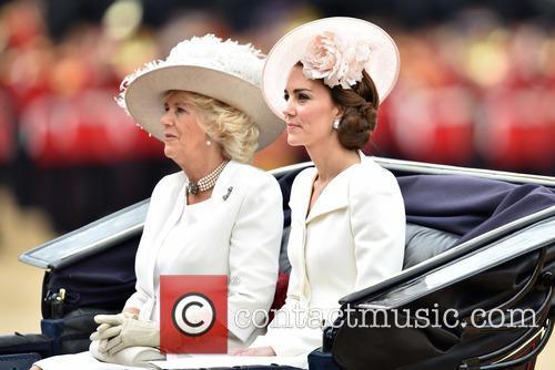 Camilla, Duchess Of Cornwall, Catherine, Duchess Of Cambridge, Kate Middleton and Catherine Middleton 4