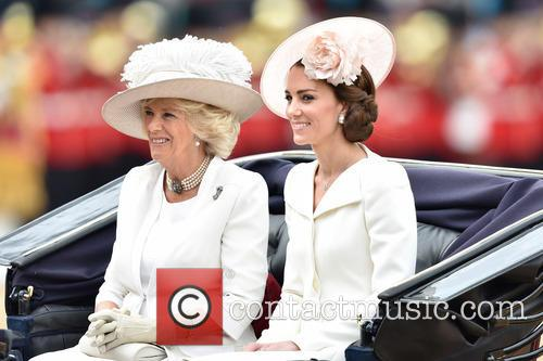 The Duchess Of Cambridge and The Duchess Of Cornwall 7