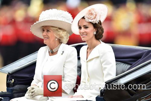The Duchess Of Cambridge and The Duchess Of Cornwall 8