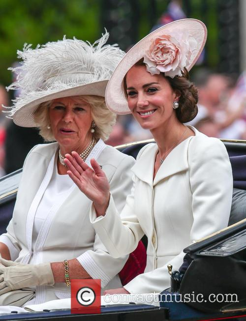 Camilla Duchess Of Cornwall, Catherine Duchess Of Cambridge and Kate Middleton 2