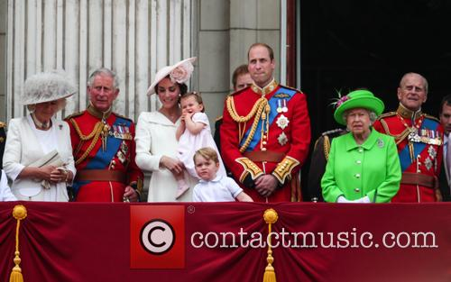 Camilla Duchess Of Cornwall, Prince Charles Prince Of Wales, Catherine Duchess Of Cambridge, Kate Middleton, Princess Charlotte, Prince George, Prince William Duke Of Cambridge, Queen Elizabeth Ii, Prince Philip Duke Of Edinburgh, Sophie Countess Of Wessex and James Viscount Severn 4