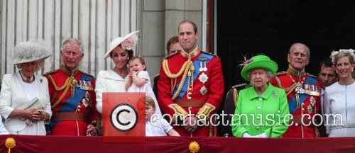 Camilla Duchess Of Cornwall, Prince Charles Prince Of Wales, Catherine Duchess Of Cambridge, Kate Middleton, Princess Charlotte, Prince George, Prince William Duke Of Cambridge, Queen Elizabeth Ii, Prince Philip Duke Of Edinburgh and Sophie Countess Of Wessex 5