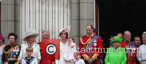 Camilla Duchess Of Cornwall, Prince Charles Prince Of Wales, Catherine Duchess Of Cambridge, Kate Middleton, Princess Charlotte, Prince George, Prince William Duke Of Cambridge, Queen Elizabeth Ii, Prince Philip Duke Of Edinburgh and Princess Anne 10