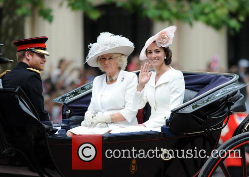 Prince Harry, Duchess Of Cornwall and Duchess Of Cambridge 1