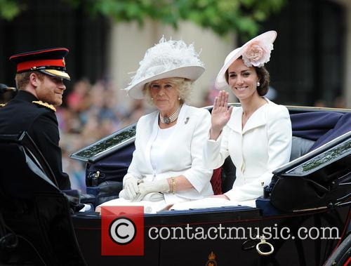 Prince Harry, Duchess Of Cornwall and Duchess Of Cambridge 2