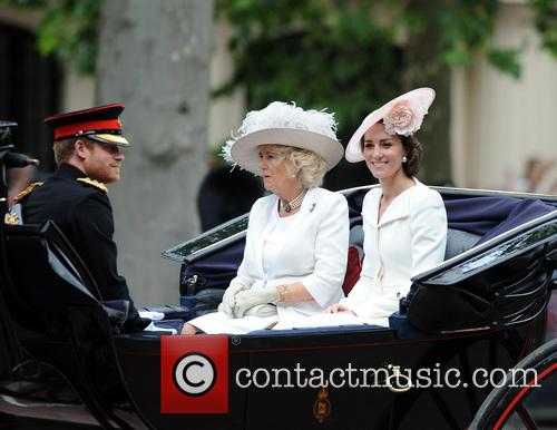 Prince Harry, Duchess Of Cornwall and Duchess Of Cambridge 3