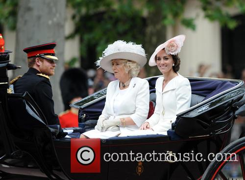 Prince Harry, Duchess Of Cornwall and Duchess Of Cambridge 4