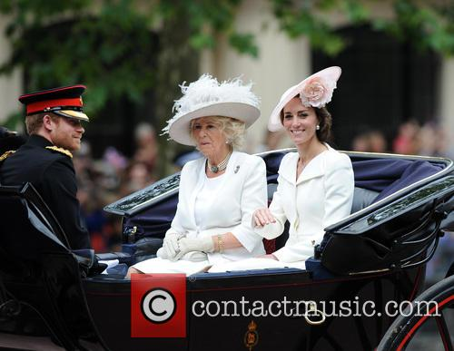 Prince Harry, Duchess Of Cornwall and Duchess Of Cambridge 5
