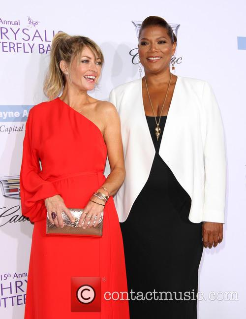 Rebecca Gayheart and Queen Latifah 1