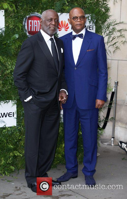 Richard Roundtree and Samuel L. Jackson 4