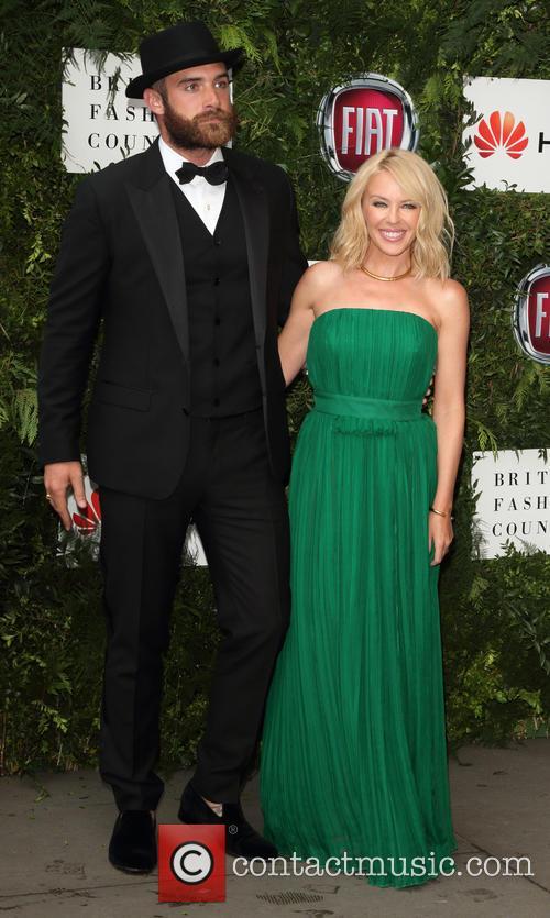 Joshua Sasse and Kylie Minogue 6