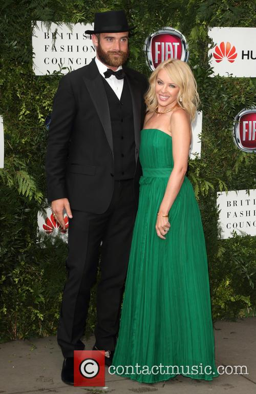 Joshua Sasse and Kylie Minogue 7
