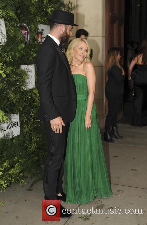 Joshua Sasse and Kylie Minogue 4
