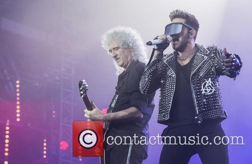 Brian May, Adam Lambert and Queen 3