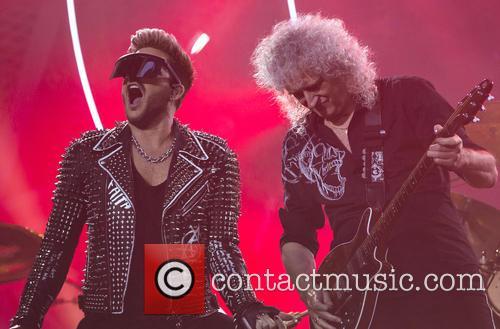 Brian May, Adam Lambert and Queen 4