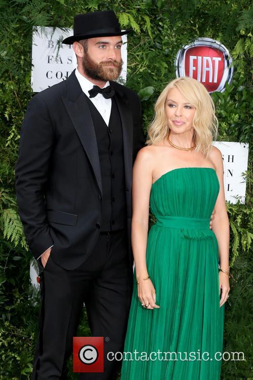 Joshua Sasse and Kylie Minogue 1