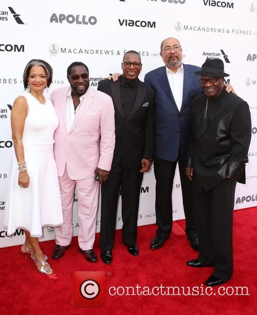 Jonellle Procope, The O'jays and Richard Parsons