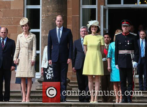 Prince William, Duke Of Cambridge, Catherine Duchess Of Cambridge, Kate Middleton and Theresa Villiers Mp 4