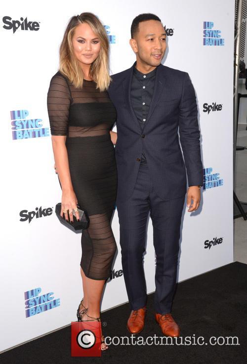 Chrissy Teigen and John Legend 8