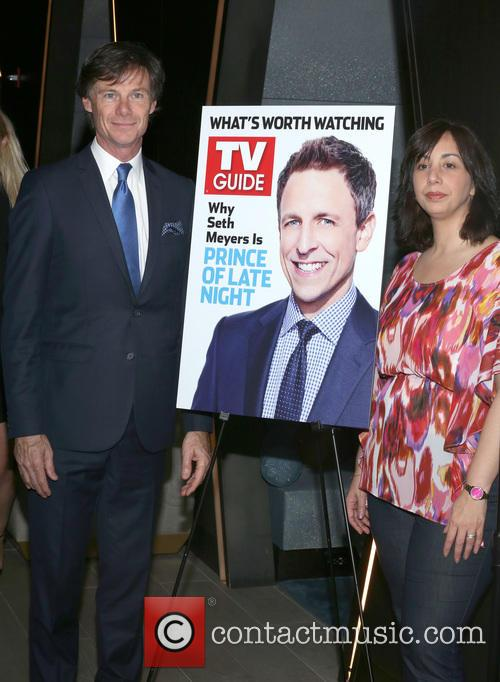 Seth Meyers, Paul Turcotte and Nerina Rammairone