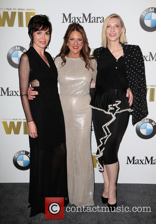 Hylda Queally, Cathy Schulman and Cate Blanchett 2