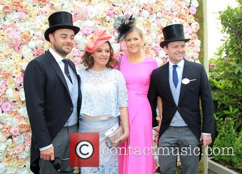 Anthony Mcpartlin, Lisa Armstrong, Declan Donnelly and Ali Astall 1