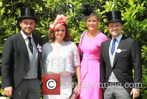Anthony Mcpartlin, Lisa Armstrong, Declan Donnelly and Ali Astall 8