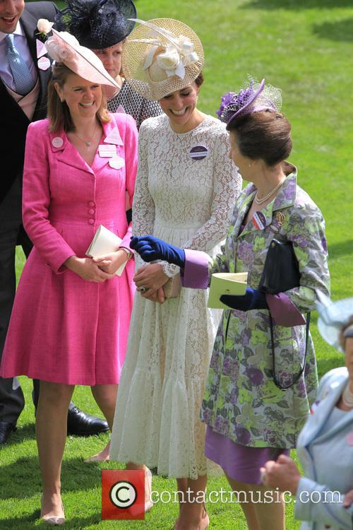 Catherine, Duchess Of Cambridge, Kate Middleton, Catherine Middleton and Princess Anne