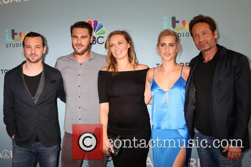 Aquarius Cast, Gethin Anthony, Grey Damon, Michaela Mcmanus, Claire Holt and David Duchovny 4