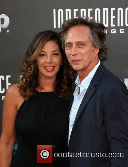 Kymberly Kalil and William Fichtner 4