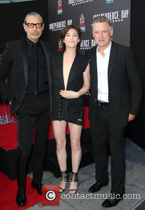 Jeff Goldblum, Charlotte Gainsbourg and Bill Pullman