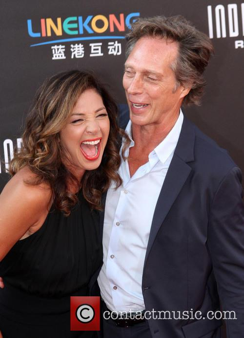 William Fichtner and Kymberly Kalil 2