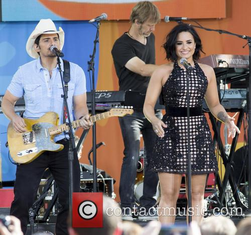 Brad Paisley and Demi Lovato 2