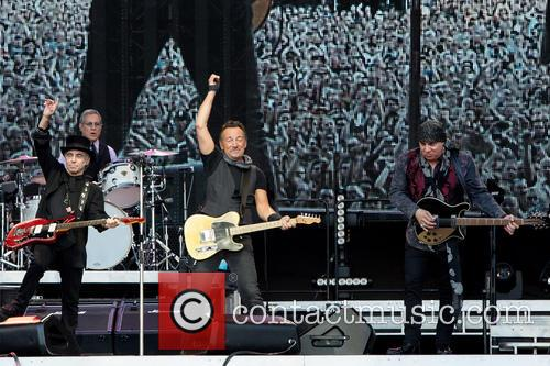 Bruce Springsteen, Steven Van Zandt, Max Weinberg and Nils Lofgren 9