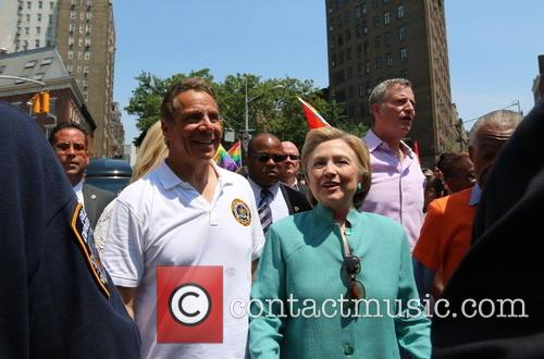 Andrew Cuomo and Hilary Clinton 1