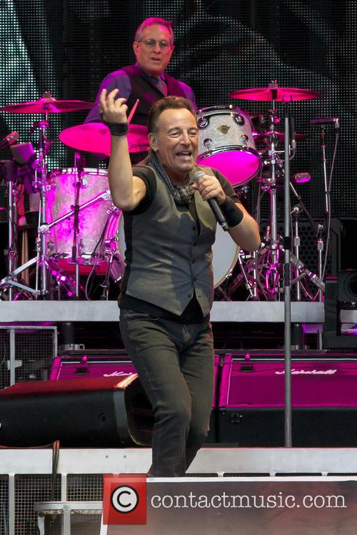 Bruce Springsteen and Max Weinberg 5