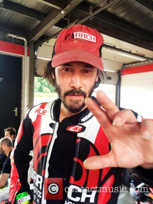 Keanu Reeves and Brands Hatch 3