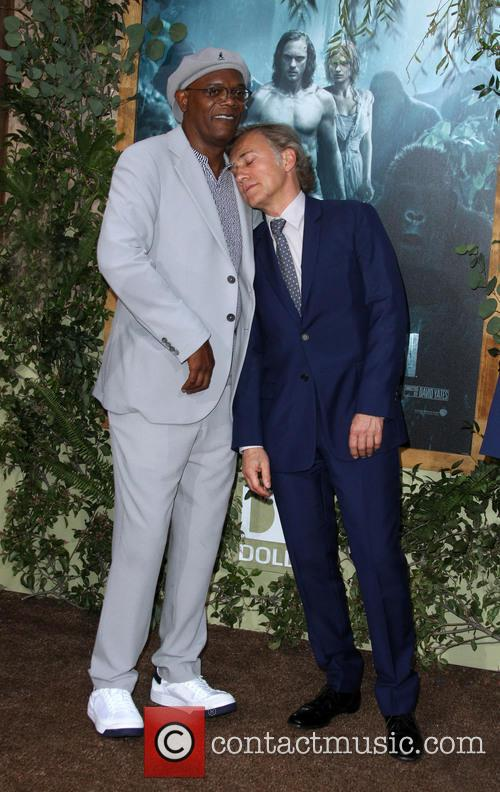 Samuel L. Jackson and Christoph Waltz 1