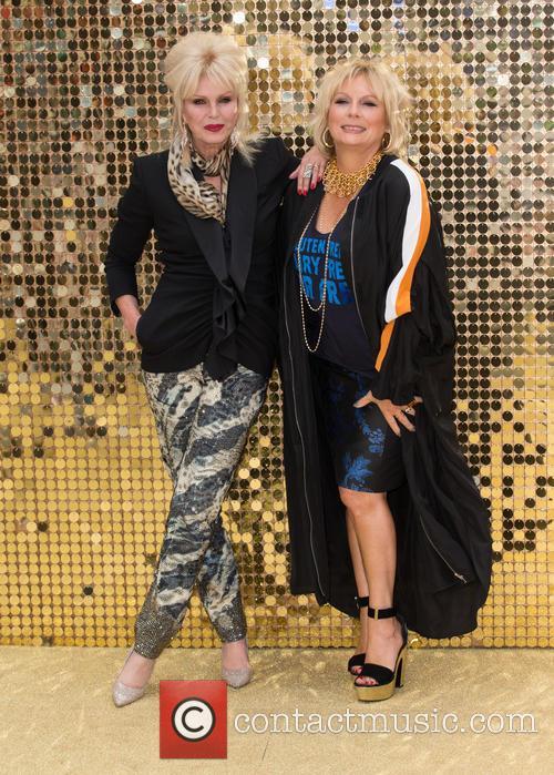 Jennifer Saunders and Joanna Lumley 1