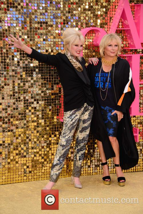 Jennifer Saunder and Joanna Lumley 6